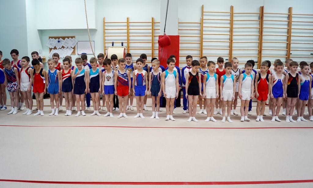 Соревнования по спортивной гимнастике прошли в «Кристалле»